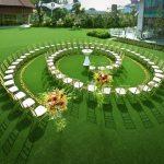 Romantic Garden Weddings on the Lawn at Equarius Hotel, Resorts World Sentosa
