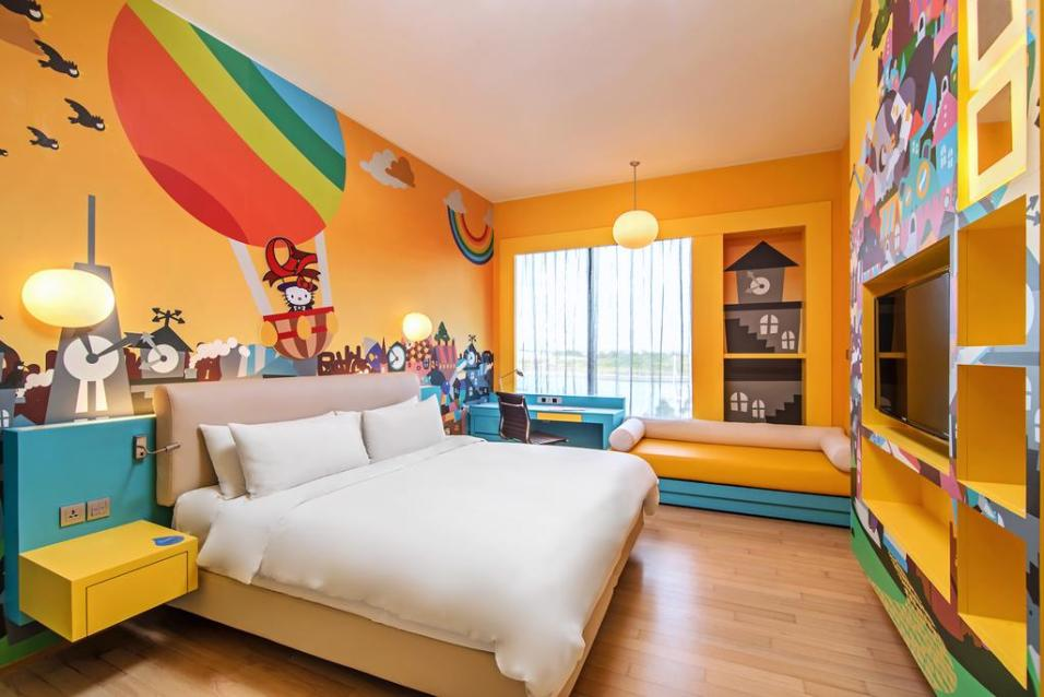 Hotel Jen Puteri Harbour Hello Kitty Room_Yellow