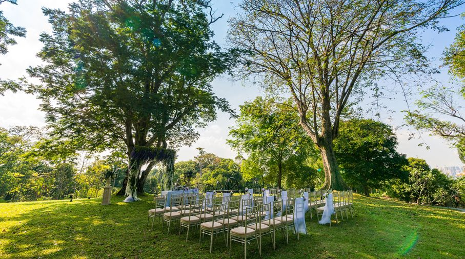 garden wedding venue singapore capella singapore