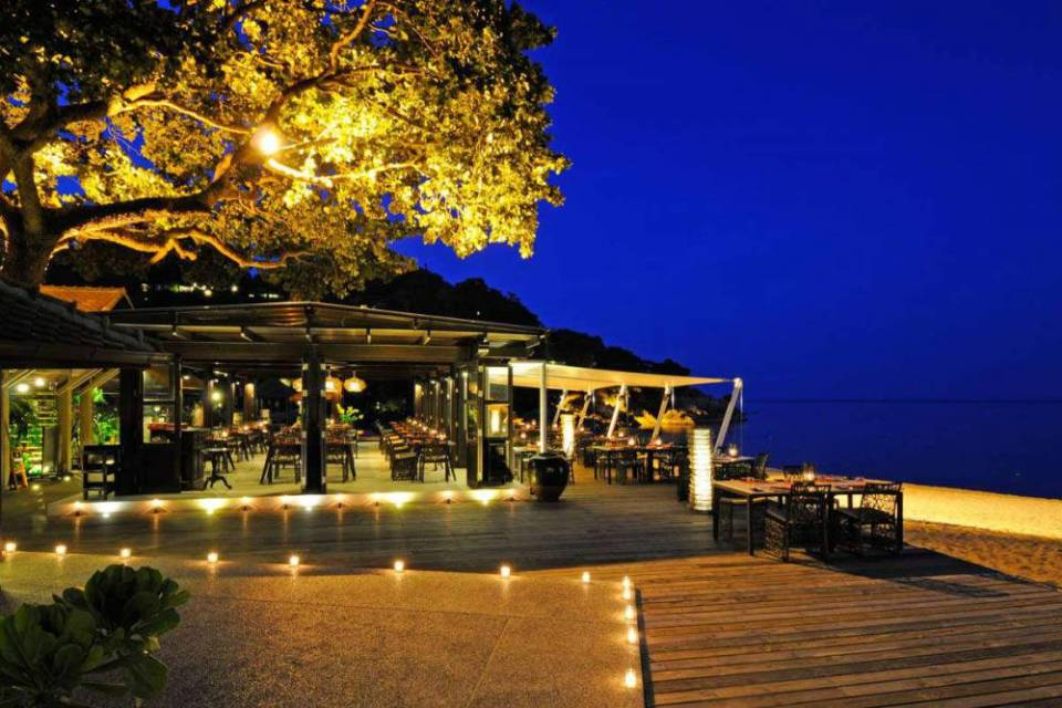 Tongsai Bay Koh Samui Wedding Po Lad Beach Bistro and Bar