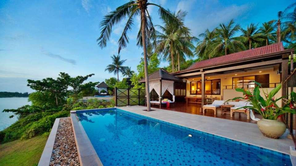 Tongsai Bay Koh Samui Honeymoon Seafront Pool Villa