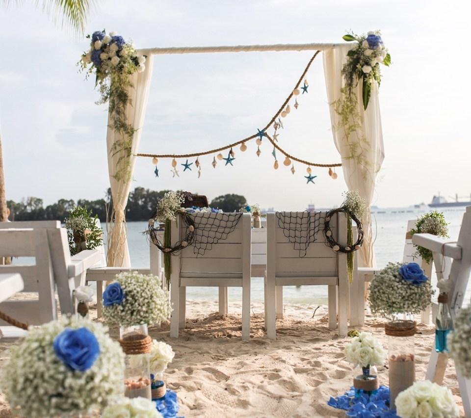 Coastes wedding venue singapore