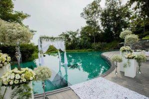 capella outdoor pool solemnisation