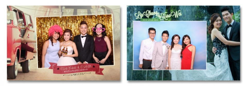instantly wedding photobooths singapore