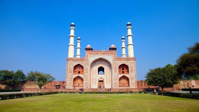 agra honeymoon Mughal Emperor Akbars Mausoleum
