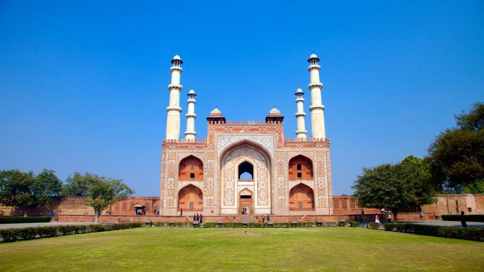 agra honeymoon Mughal Emperor Akbars Mausoleum