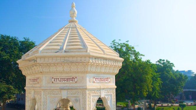 agra honeymoon Samadhi Swamiji Maharaj Bagh