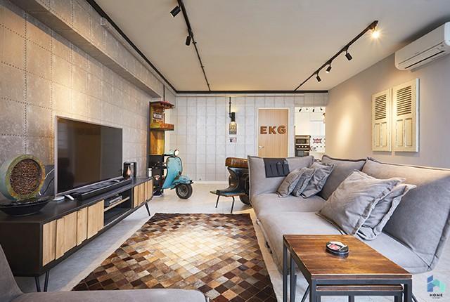 industrial home interior design