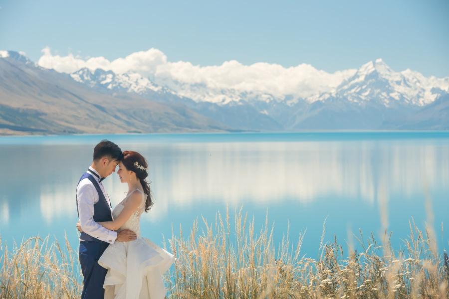 new zealand photoshoot location lake pukaki