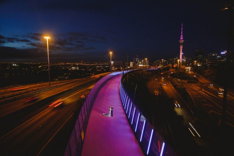 new zealand photoshoot location nelson street cycleway