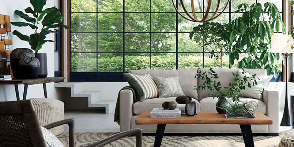 Online Furniture Stores Singapore Crate and Barrel
