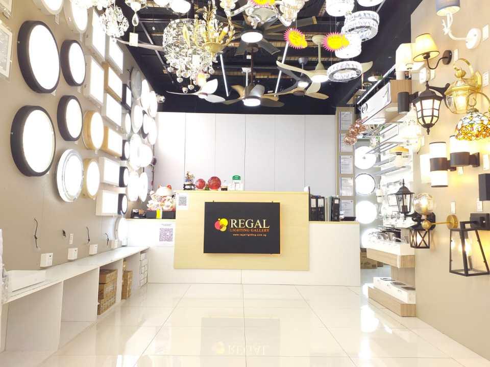 regal lighting gallery best lighting shop singapore