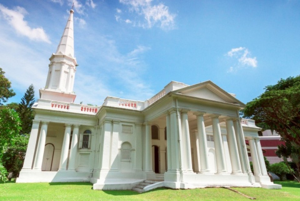 churches singapore Armenian Apostolic Church of St. Gregory the Illuminator