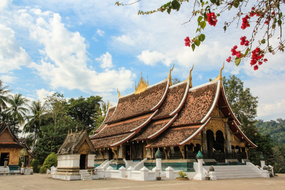 laos honeymoon Golden City, Wat Xieng Thong