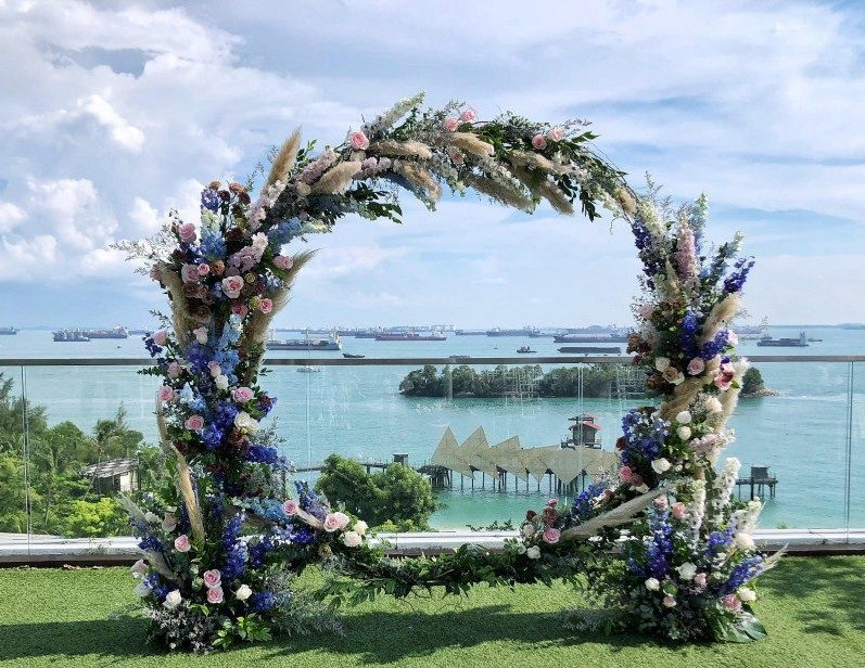 royal blooms wedding packages singapore florist