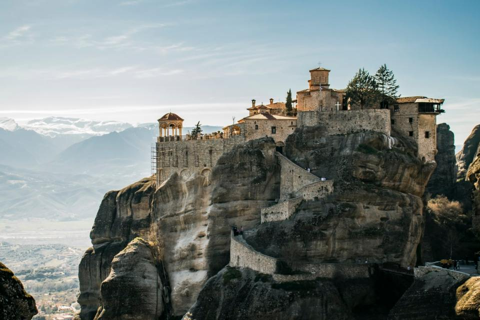 meteora greece honeymoon