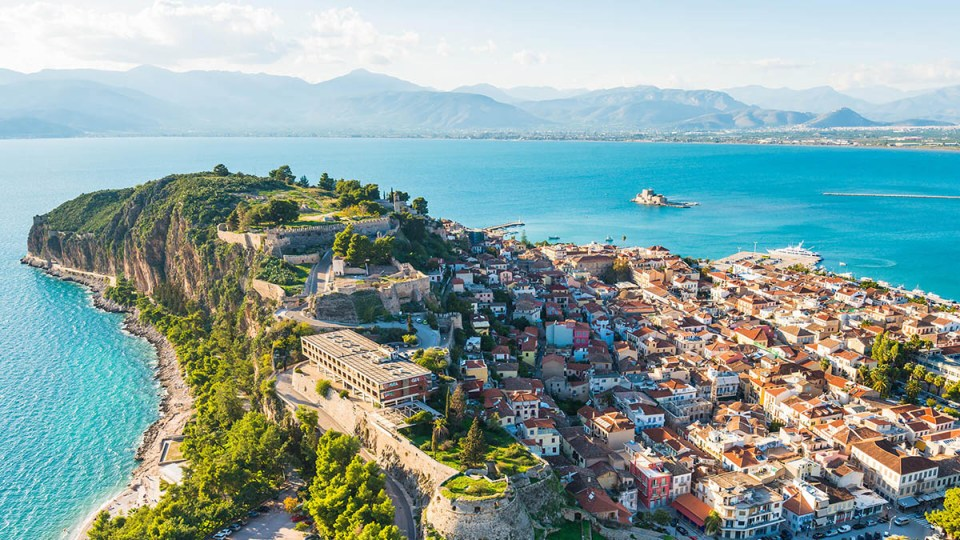 Nafplio greece honeymoon