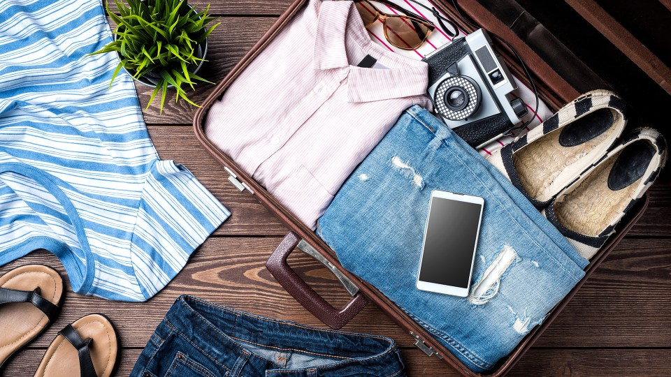 honeymoon packing checklist