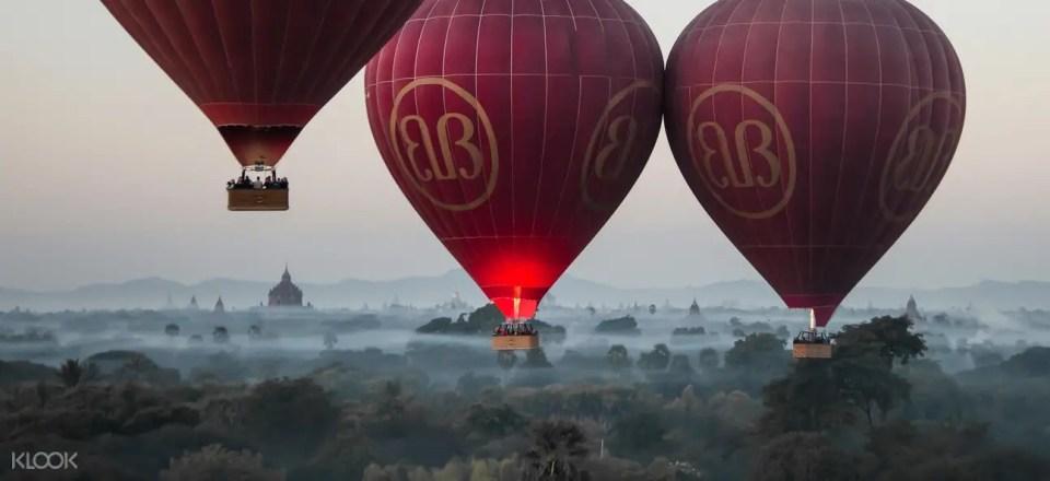 Bagan Hot Air Balloon Sunrise Experience by Balloons Over Bagan