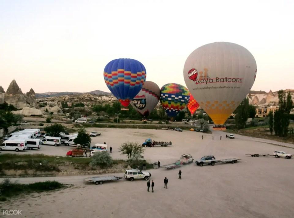 Cappadocia, Turkey Hot Air Balloon Flight in Cappadocia