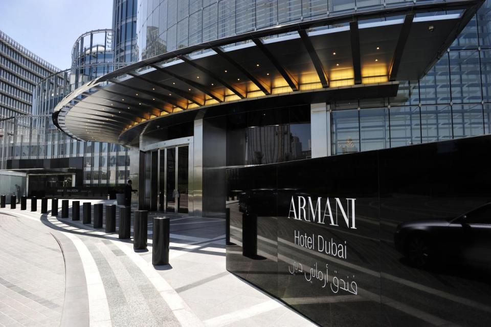best honeymoon destination Armani Hotel Dubai