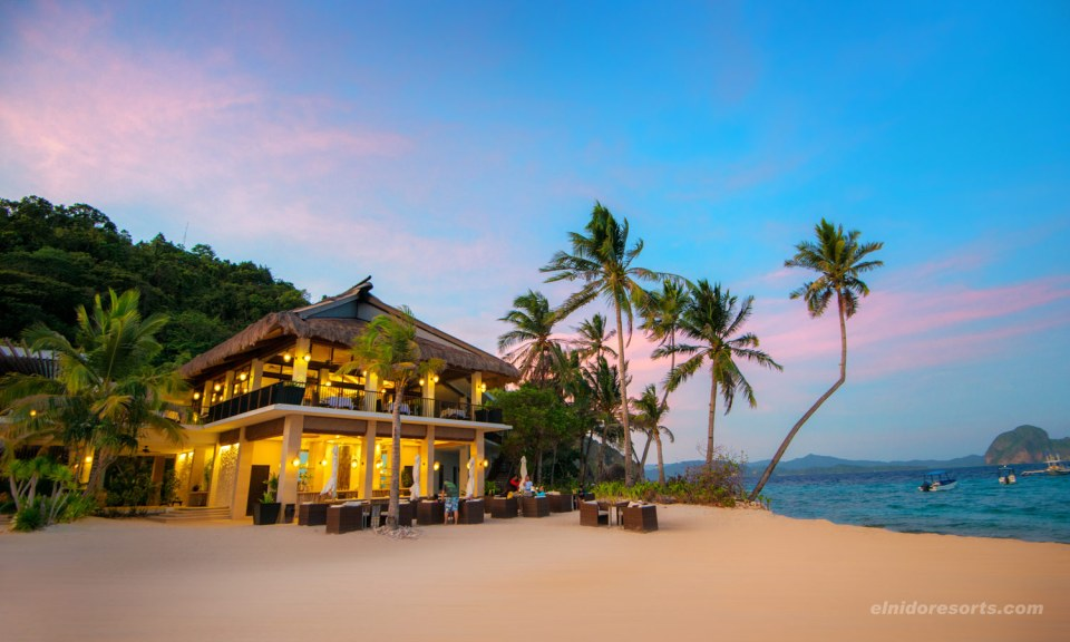 best honeymoon destination El Nido, Philippines El Nido Resorts Pangulasian Island