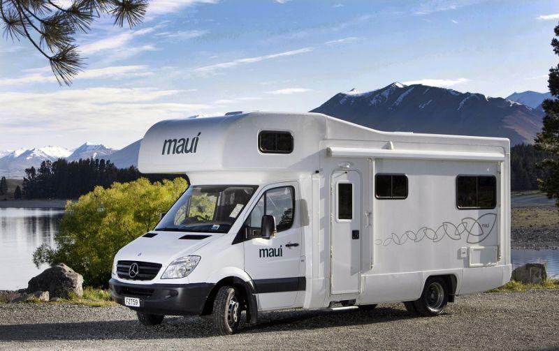 Maui Campervan New Zealand South Island Itinerary