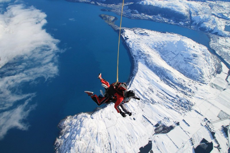 NZONE Skydive Queenstown New Zealand South Island Itinerary