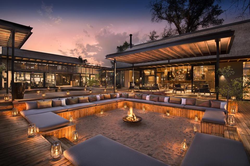 best honeymoon destnation Lion Sands River Lodge