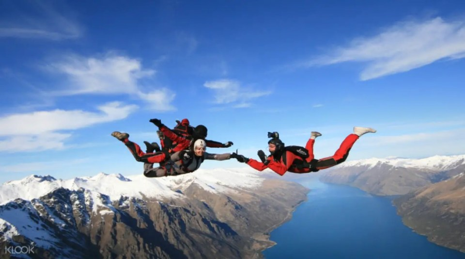 South Island NZONE Skydive Queenstown