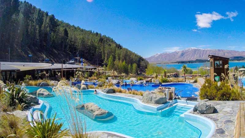 Tekapo Hot Springs New Zealand