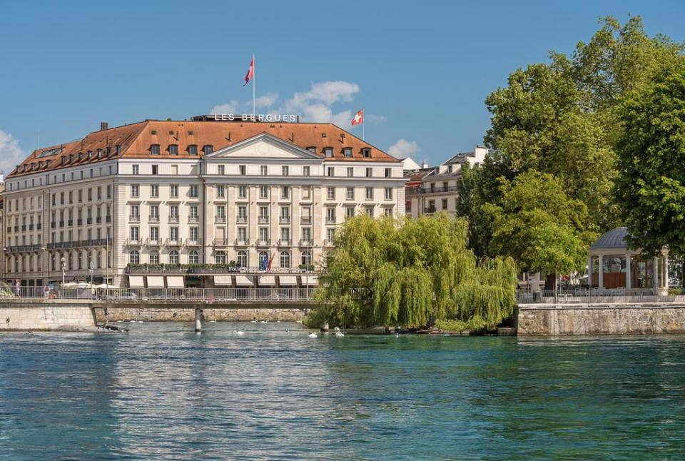 switzerland honeymoon Four Seasons Hotel des Bergues