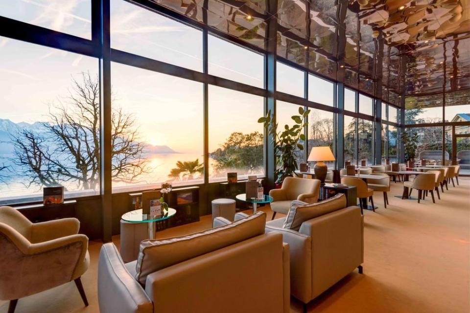 switzerland honeymoon Royal Plaza Montreux & Spa