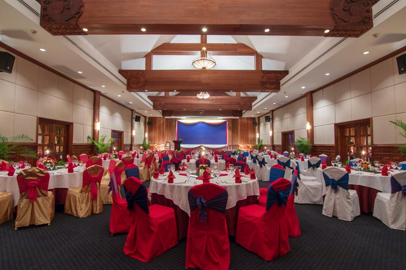 cambodia wedding venues - ballroom