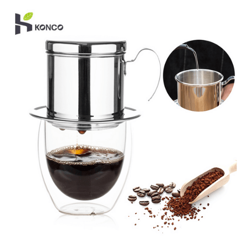 Konco Stainless Steel Vietnamese Drip Coffee Maker