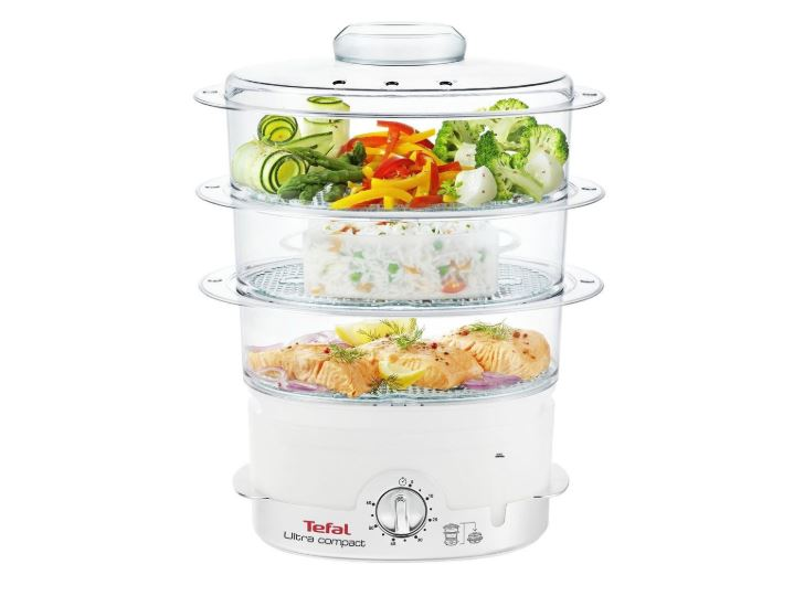 Tefal Ultra Compact 9L food Steamer singapore VC1006