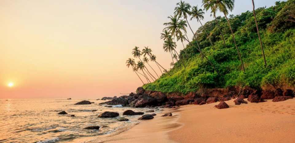 india honeymoon Goa