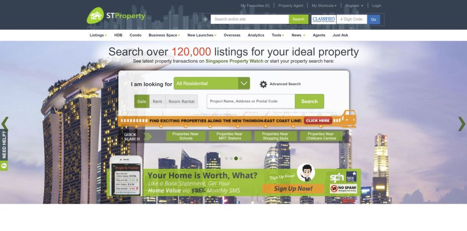 property websites ST Property