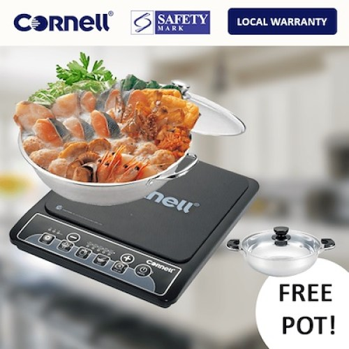 Cornell induction stove singapore CIC-SP583G (with Free Pot)