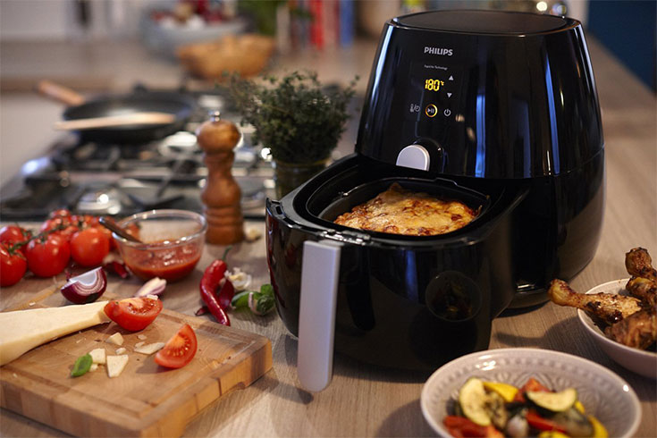 Philips Viva Collection Twin TurboStar HD9723/11best air fryers singapore