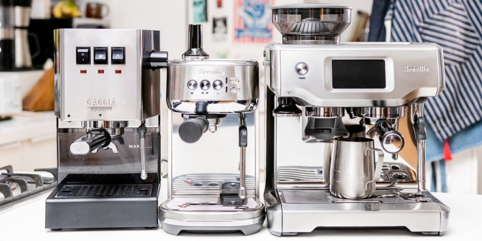 espresso making machinery