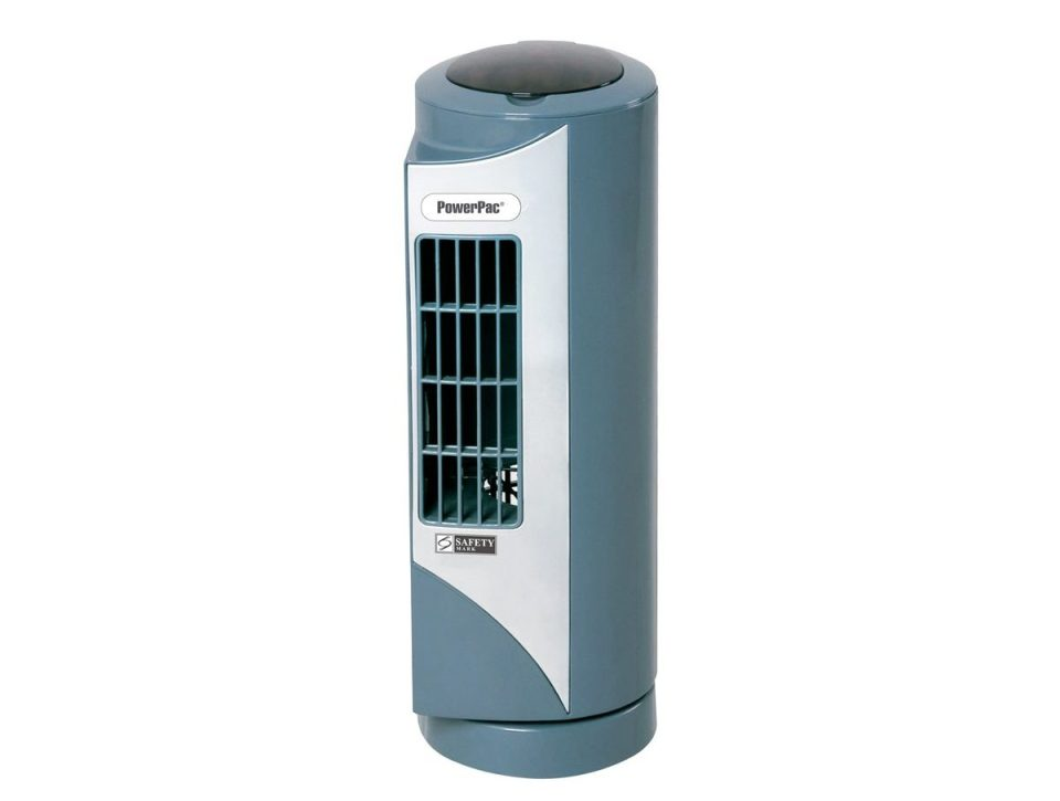 PowerPac Mini Tower Fan with Oscillation PPTF10