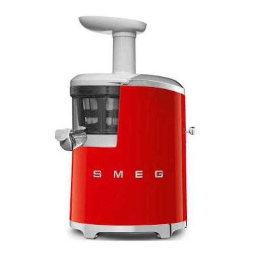 Smeg Slow Juicer 50's Retro Style Aesthetic SJF01RDUK cold press juicers singapore