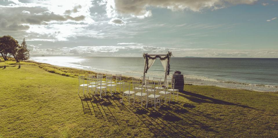 Papamoa Beach Resort New Zealand Wedding Venue