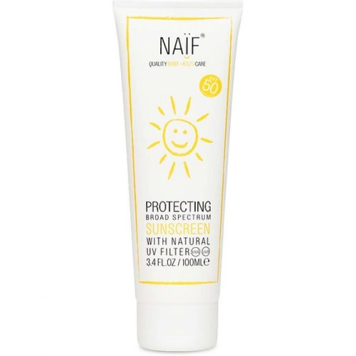 Naif Protecting sunblock for kids SPF50 100ml