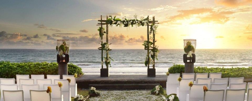 w bali wedding venues bali