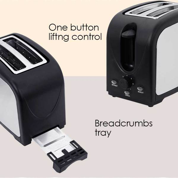 PowerPac 2 Slice Bread Toasters singapore PPT03