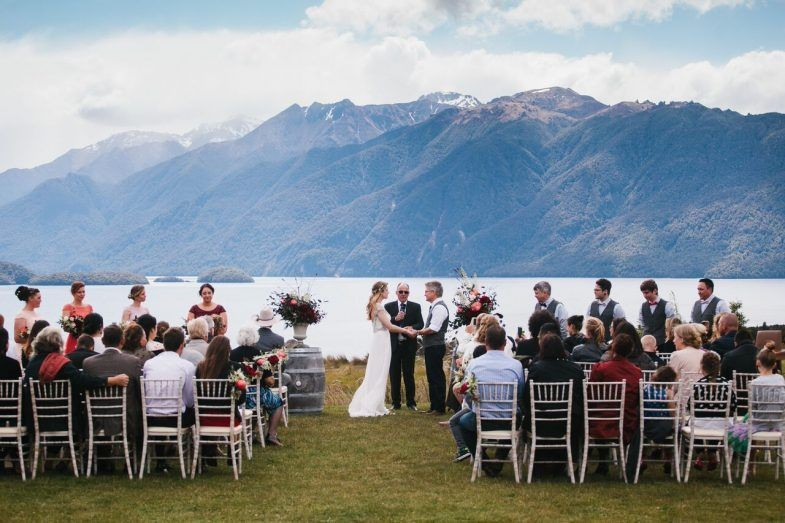 wedding venues new zealand mountains