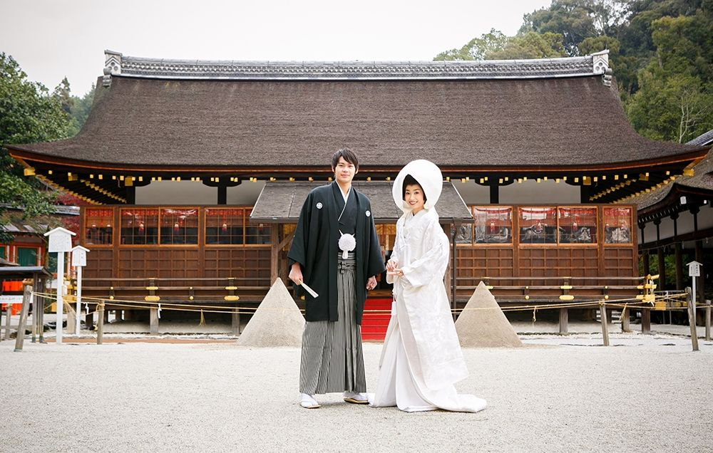 Kamigamo Shrine wedding venues japan