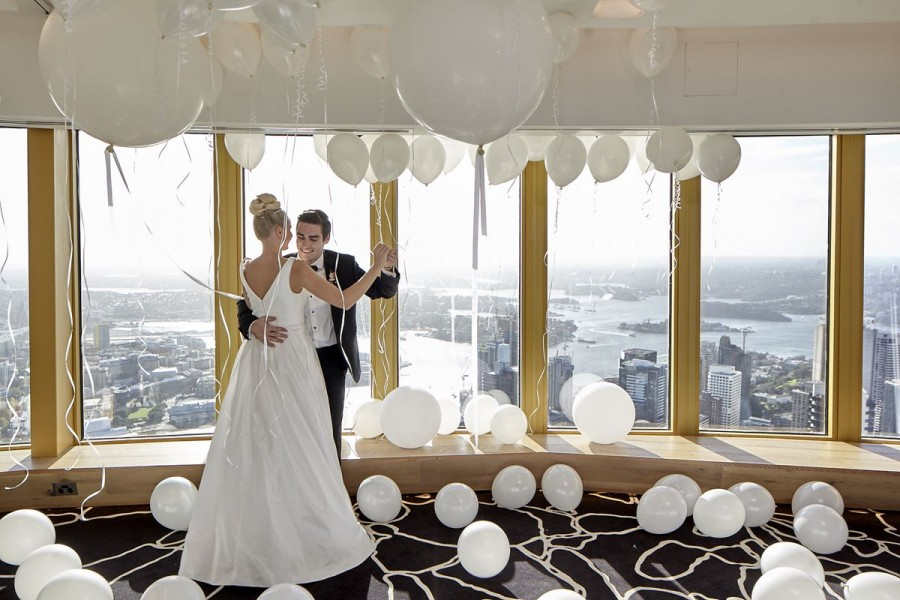 Studio Sydney Tower wedding venues sydney